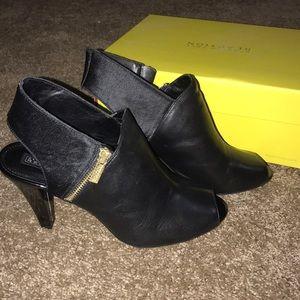 BRAND NEW black heels/booties